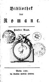Bibliothek der Romane: Fünfter Band, Band 5