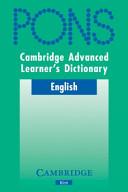 Download Cambridge Advanced Learner s Dictionary KLETT VERSION Book