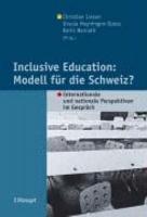 Inclusive Education  Modell f  r die Schweiz  PDF