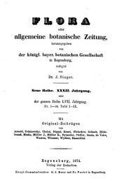 Flora: oder, Allgemeine botanische Zeitung, Band 57