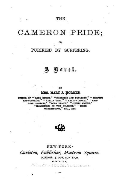 The Cameron Pride