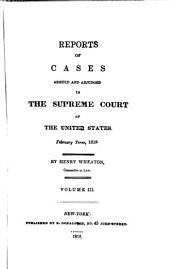 United States Reports: Cases Adjudged in the Supreme Court, Volume 16