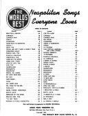 Neapolitan Songs Everyone Loves PDF