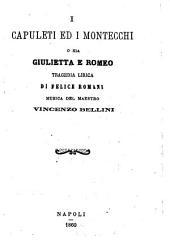 I Capuleti ed i Montecchi o sia Giulietta e Romeo: tragedia lirica