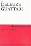 A Thousand Plateaus Book