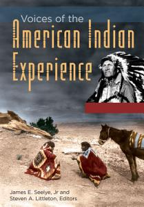 Voices of the American Indian Experience Book