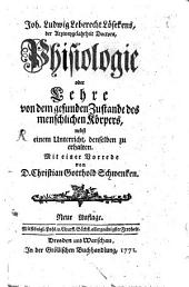 Phisiologie