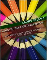 Colorstrology Guidebook  Tips About True Colors You Can t Afford to Miss PDF