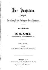 Der Prüfstein: Sittenspiegel des Kalonymos ben Kalonymos metrisch übersetzt von W.A. Meisel