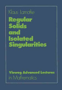 Regular Solids and Isolated Singularities PDF