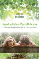 Integrating Faith and Special Education PDF