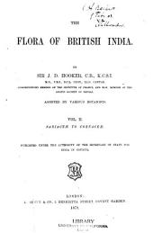The Flora of British India: Volume 2