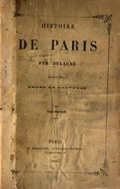 Histoire de Paris par Dulaure: Tome premier