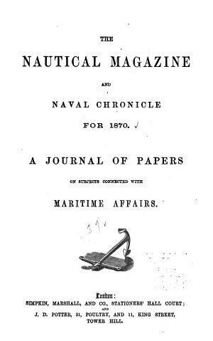 The Nautical Magazine