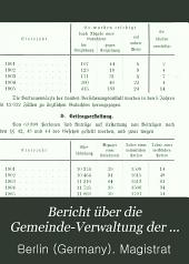 Bericht über die Gemeinde-Verwaltung der Stadt Berlin in den Jahren...: Teil 3