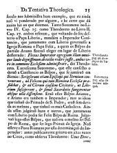 Appendix e illustraçaõ da Tentativa theologica sobre o poder dos bispos em tempo de rotura