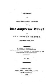 Reports of cases argued and adjudged in the Supreme Court of the United States: Volume 28