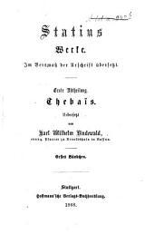 Werke: im Versmaß der Urschrift übersetzt, Band 1,Ausgabe 1