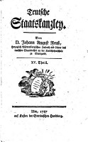 Teutsche Staatskanzley PDF
