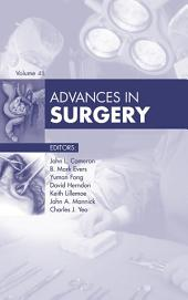 Advances in Surgery, E-Book