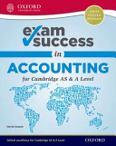 Exam Success in Accounting for Cambridge as   a Level PDF
