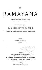 Le ramayana: poème sanscrit dē Valmiky, Volume2