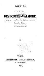Poésies de Madame Desbordes-Valmore: avec une notice par M. Sainte-Beuve