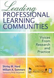 Leading Professional Learning Communities PDF