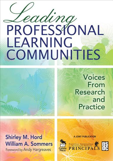 Leading Professional Learning Communities PDF