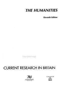 Current Research in Britain PDF