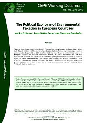 The Political Economy of Environmental Taxation in European Countries PDF