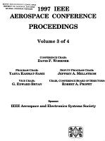 1997 IEEE Aerospace Conference Proceedings PDF