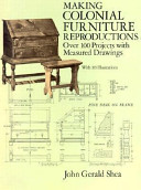 Making Colonial Furniture Reproductions