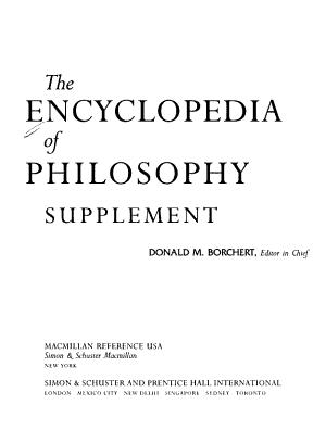 The Encyclopedia of Philosophy PDF
