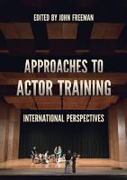 Approaches to Actor Training PDF