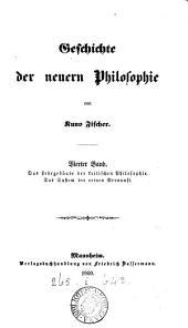 Geschichte der neuern Philosophie: -4. Immanuel Kant