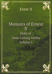 Memoirs of Ernest II