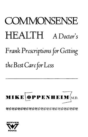 Commonsense Health