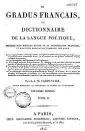 Le gradus français, ou dictionnaire de la langue poétique