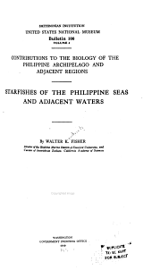 Starfishes of the Philippine Seas and Adjacent Waters: Issue 100, Volume 3