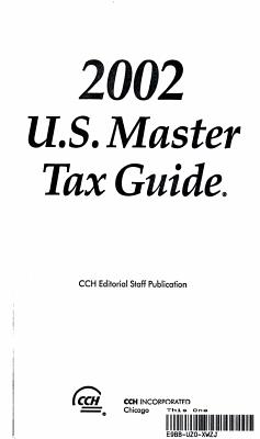 2002 U  S  Master Tax Guide PDF