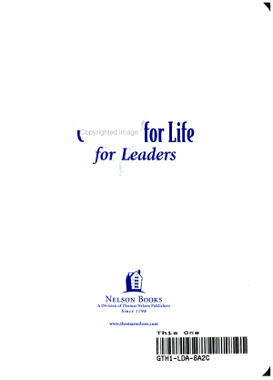 Checklist for Life for Leaders PDF
