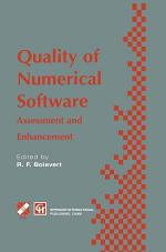 Quality of Numerical Software