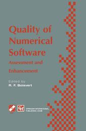 Quality of Numerical Software: Assessment and enhancement