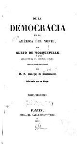 De la democracia en la América del Norte: Volume2