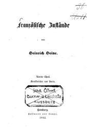 Sämmtliche Werke: Französische Zustände, Th. 4: Kunstberichte aus Paris, Band 11