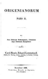 Ōrigenous ta heuriskomena panta: Volume 23