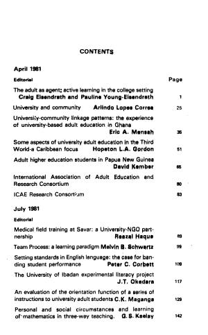International Journal of University Adult Education PDF