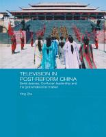 Television in Post Reform China PDF
