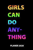 Girls Can Do Anything Planer 2020